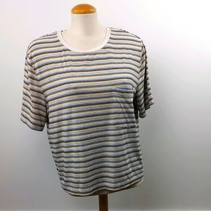 WILFRED FREE • ARITZIA | Multi Stripe T Shirt